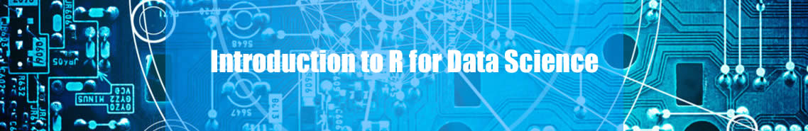Introduction to R for Data Science